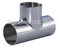 """1"""" SS304 weld y type tee, Tee Stainless steel, Stainless steel pipe fitting,weld tee,Sanitary Tee"""