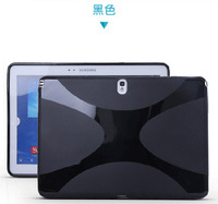 Screen Protector+tablet protective case silicon cover for samsung Galaxy Note 10.1 P600 P601 P605