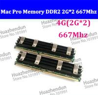2pcs Mac Pro 1,1 2,1 3,1 MACPRO MEMORY DDR2 667 FB-Dimm 4GB (2GBx2) DDR2 PC2-5300 ECC DDR2 667Mhz