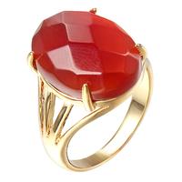 JAN-0052,  Wholesale Size 7 to 9 Fashion Jewelry New Man big stone 18K Yellow Gold Filled Wedding Ring Gift