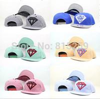 Diamond baseball cap diamand flat-brimmed hat hiphop cap baseball cap bboy hip-hop hat