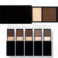 2014 hot sale professional MC 10color matte eyebrow powder eye shadow makeup 5pcs/lot  eyeshadow  palette brand
