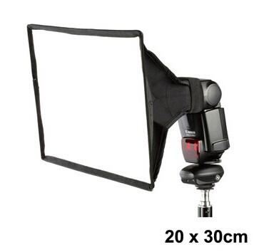 20x30 lambed box flash softbox flash diffusers measurement : 20 *30cm(China (Mainland))