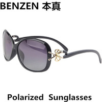 2014 Women Polarized Sunglasses Butterfly  Woman Driving Sun Glasses UV 400 Eyewear With Case Black  1024B