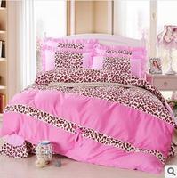Bedding Princess bedclothes 100% cotton bedding set bed skirt style/Home Textile/bed set/bed linen/duvet cover set