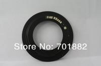 2pcs lot black AF Confirm Mount Adapter M42-EOS M42 Lens for Canon EOS EF Camera EOS 5D / EOS 5D Mark II / EOS 7D