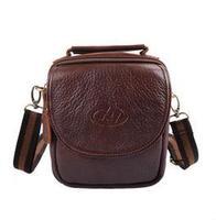 New Fashion Men's Messenger Bag Retro Shoulder Bag Genuine Leather Small Bag Crossbody Multifunctional Waist Pack B47