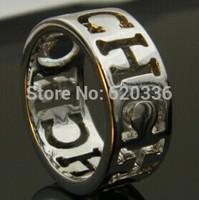 siver color titanium Carolina CH rings