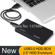 """(Haven't HDD) 2.5"""" USB 3.0 HDD Case Hard Drive Disk External Enclosure Box ORICO HDD ENCLOSURE SATA hd externo1tb box free ship (China (Mainland))"""