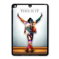 Legend Michael Jackson Protective Black Hard Shell Cover Case For iPad 5 Air/iPad Mini/iPad 2 3 4 P04