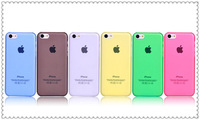 DHL free shipping refreshing Matte Translucent Skin Back Cover Case for iPhone 5 4G 5G 5C 20pcs/lot