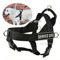 Free shipping  Details about  NEW service dog harness large Safe Nylon pet pitbull boxer Soft/Vest Harness