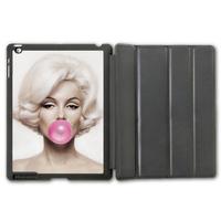 Marilyn Monroe Bubble Gum Protective Smart Hard Cover Leather Case For iPad 2 3 4/iPad 5 Air/iPad Mini (Free Shipping)  P108