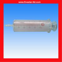 Irrigating glass syringe 1000ml for Laboratory Glasswares