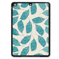 Mint Feather Shell Tablet Shape Black TPU Protective Cover Case For iPad 5 Air/iPad Mini/iPad 2 3 4  P17