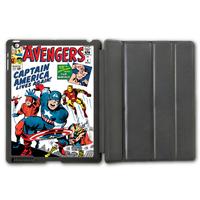 The Avengers Comic Book Retro Protective Smart Cover Leather Case For iPad 2 3 4/iPad 5 Air/iPad Mini (Free Shipping)  P76