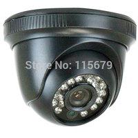 "1/3"" HDIS CCD Camera, 650TV Line, 3.6mm lens, 24PCS Infrared LED, 49 feet IR distance, 0.1 Lux Min. illumination"