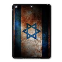 Retro Vintage Israel Flag Protective Black Hard Shell Cover Case For iPad 5 Air/iPad Mini/iPad 2 3 4(Free Shipping)  P10