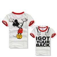 Mickey shirts SpongeBob shirt boutique shirt top MIX STYLES Spiderman red top clothing