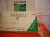Purity of 100% pure natural spirulina powder