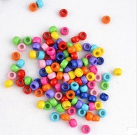 10bags=1000pcs Loom beads Candy color pedant  Knitting beads DIY Bracelets knitting accessproes Children Toy Gift Hot Popular