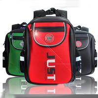 2014 new mochila infantil backpack children orthopedic school bag kids backpack with hard back for school boys girls