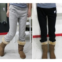 2014 Cheap Loose Casual Trousers Soft Fleece Maternity Pants free Shipping Clothes for Pregnant Women Home Wear Clothing