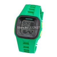 SL017- 2014 New Sports Watch men/women mechanical hand wind watches digital silicon strap watch wristwatches Boy/girl hours HOT