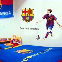 Lionel Messi Barcelona Football Soccer Player Wall Art Vinyl Decal Sticker PP9905