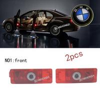 2Pcs 3D Car LED Door courtesy Shadow Projector logo Light For BMW car door light free shipping