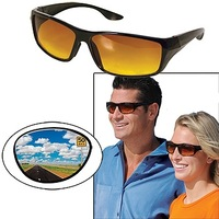 100%UV protection HD vision warp arounds sunglasses goggles as fashion design sun glasses for traveling eyewear AS SEEN ON TV.