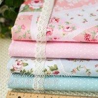 width 160CM*50CM flower designer fabric patchwork cotton fabric sewing handmade woven scrapbooking cloth tecidos tissue zakka
