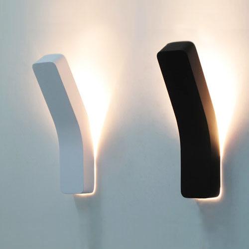 Moderna ha portato a muro lampade ac85-265v 3 w personalizzata led ...