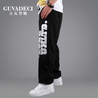 Men hip hop pants Loose plus size Sport wear for men sport pants Street dance pants sweatpants dance pants Outdoor fun & sports