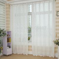 Beautiful princess quality jacquard window screen curtain balcony window screening