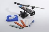 2014 Apex lansky edge sharpener kitchen knife sharpening Fix angle sharpener system with 4pcs whetstone