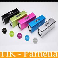 Original New  ANGEL JH-MAUK5B LCD Screen Active Audio FM USB Wireless Portable Mini Speaker with SD/TF