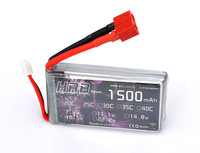 Free shipping HRB 7.4V 1500MAH 25C 2S LiPo Battery Pack For RC Helicopter Airplanes