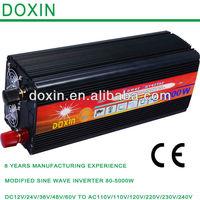High capacity solar inverter 3kw 220v frquency inverter 50hz to 60hz power inverter 3000w 48v