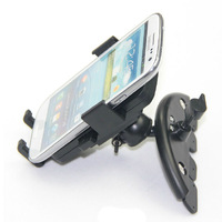 Easy One Touch Mobile Phone / GPS Car CD Mouth Holder 50-75mm Extendable CD Port Mount Bracket for iPhone5s Samsung Smartphone
