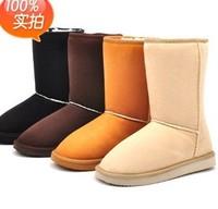 size 35-40 free shipping  new 2014 women winter boots,flat boots,snow boots for women,panda boots winter,mocasim feminino