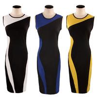 Plus Size Short Prom Vintage Geometry Design Sleeveless O-Neck Stretchy Bodycom Party Dresses Elegant Evening Dresses