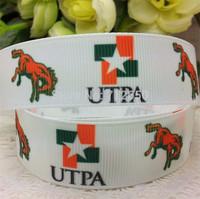 New 7/8'' 22mm upta printed grosgrain ribbon cartoon ribbon EF165 diy Bow Gift Wrap ribbon10 yards free shipping