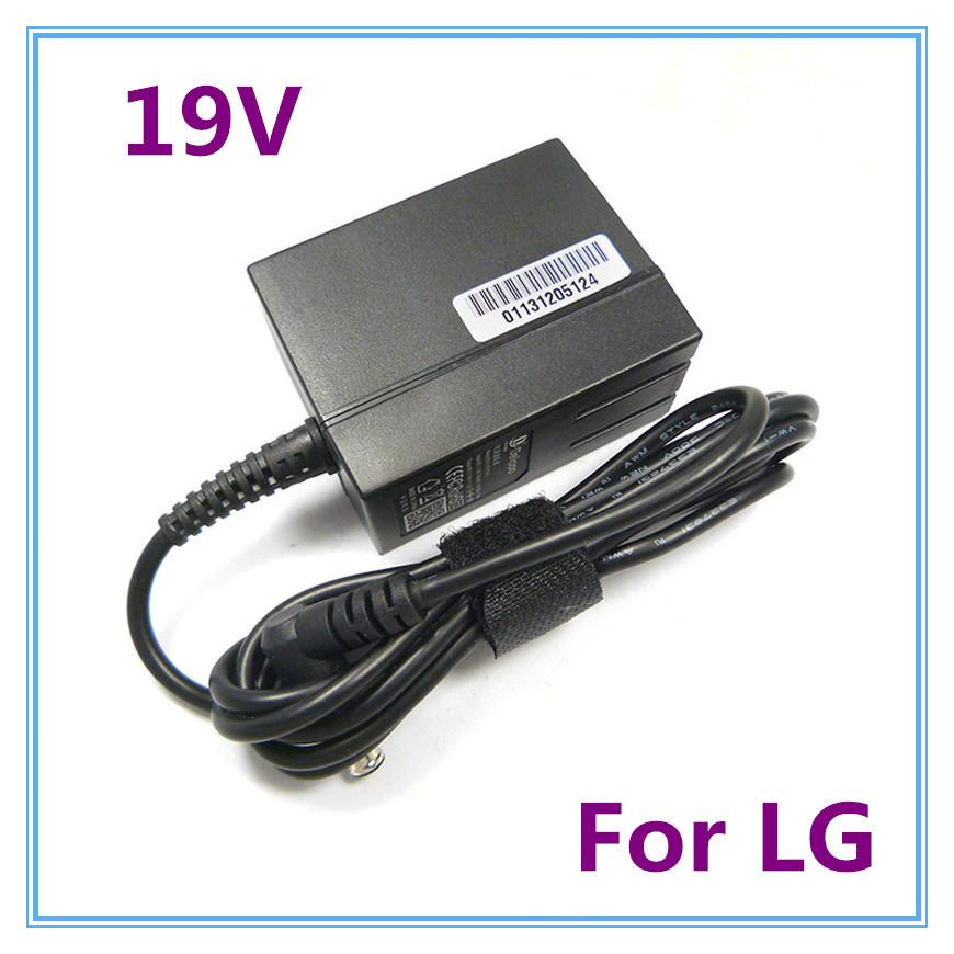 19V AC Adapter For LG 20EN33SSA 20EN33SSU/b 20EN33R-W LED LCD Monitor Power Charger Supply(China (Mainland))