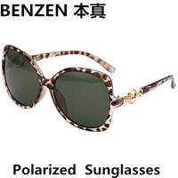 2014 New Women Polarized Sunglasses Elegent Rhinestone woman Sun glasses  Driving shades UV 400 oculos with case black  1032B