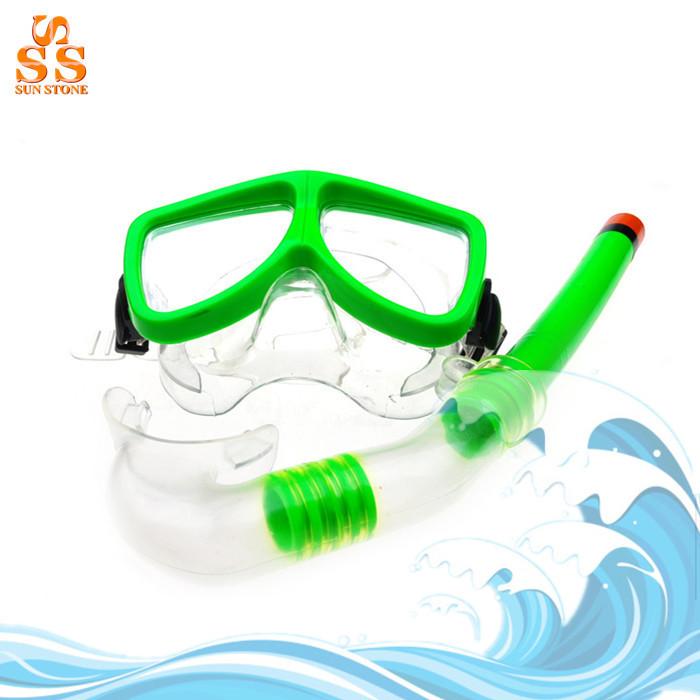 High Grade 4 Colors Scuba Toughened Glass Diving Mask Snorkel Set,Swimming Goggles Diving Equipment,Mascaras De Mergulho G293(China (Mainland))