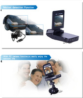 """Wide View Angle 2.5"""" HD 1080P Mini Car DVR With 5.0MP Camera and G-Sensor"""