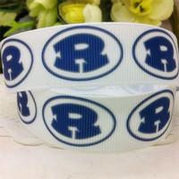 New 7/8'' 22mm R printed grosgrain ribbon sport ribbon EF167 diy Bow Gift Wrap ribbon10 yards free shipping