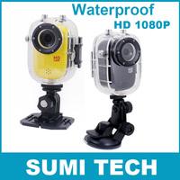 Full HD 1080P waterproof camera mini action sport camera video with waterproof case sports car dv DVR /Bike/Surfing/Outdoor