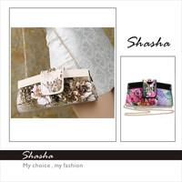 Famous women's wallets girl evening bag Women elegant fashion day clutch leopard decorative bags shopping evening luxury purse